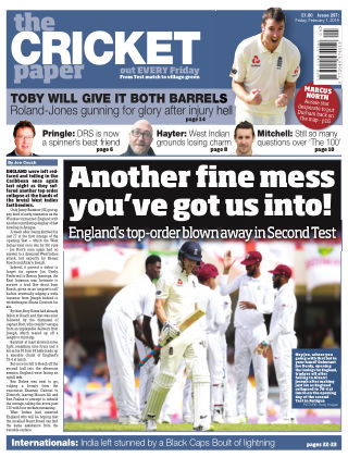 The Cricket Paper 1st February 2019