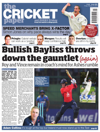 The Cricket Paper 15th February 2019