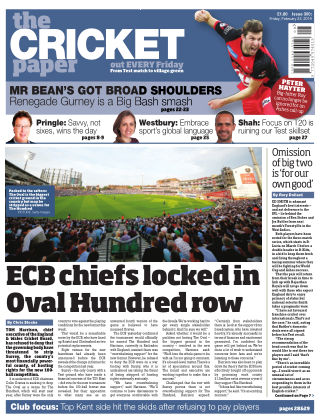 The Cricket Paper 22nd February 2019