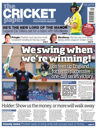 The Cricket Paper 1st March 2019