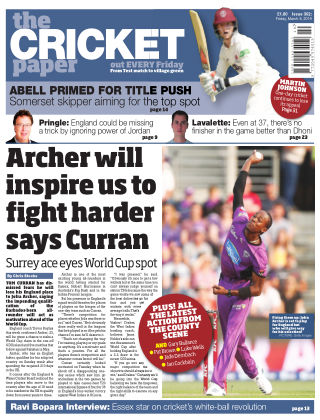 The Cricket Paper 8th March 2019