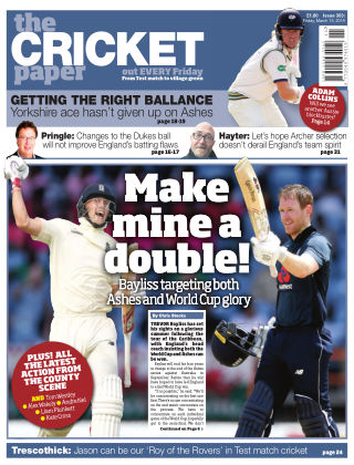 The Cricket Paper 15th March 2019