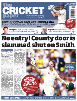 The Cricket Paper 22nd March 2019