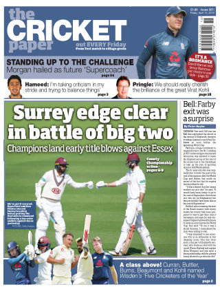 The Cricket Paper 12th April 2019