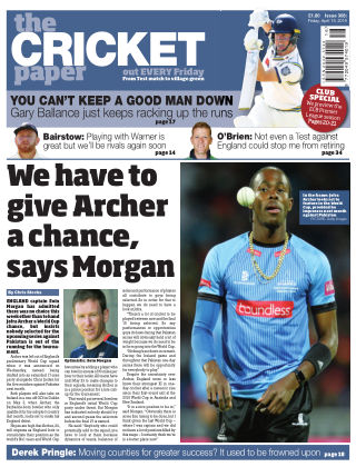 The Cricket Paper 19th April 2019
