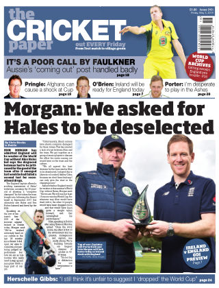 The Cricket Paper 3rd May 2019