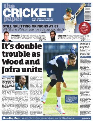 The Cricket Paper 17th May 2019
