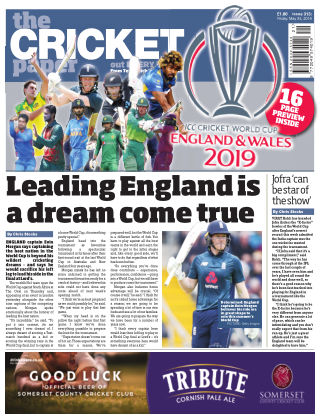 The Cricket Paper 24th May 2019
