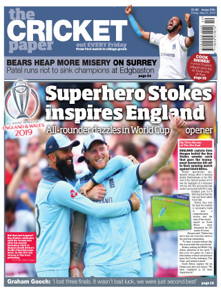 The Cricket Paper 31st May 2019