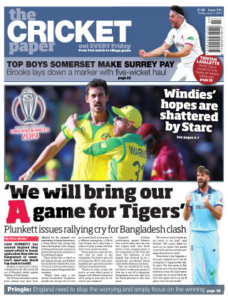The Cricket Paper 7th June 2019