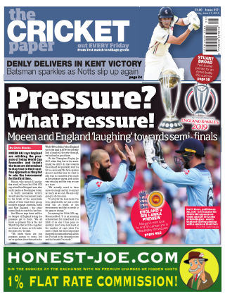 The Cricket Paper 21st June 2019