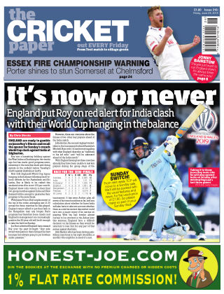 The Cricket Paper 28th June 2019