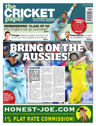The Cricket Paper 7th July 2019