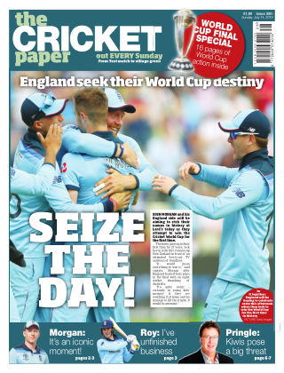 The Cricket Paper 14th July 2019