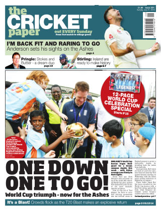 The Cricket Paper 21st July 2019