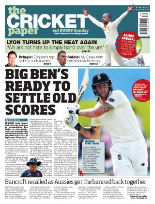 The Cricket Paper 28th July 2019
