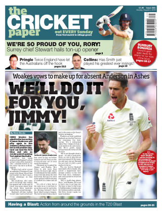 The Cricket Paper 4th August 2019