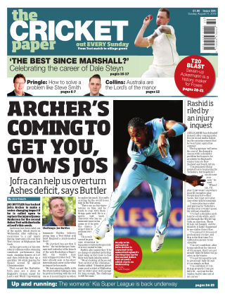 The Cricket Paper 11th August 2019