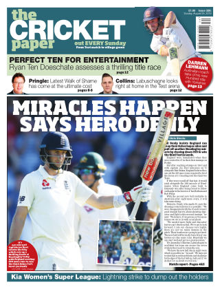 The Cricket Paper 25th August 2019
