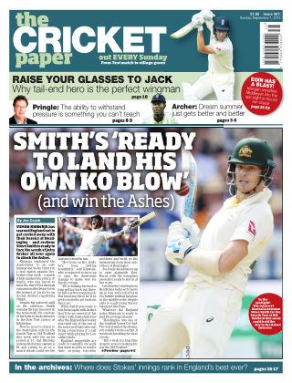 The Cricket Paper 1st September 2019