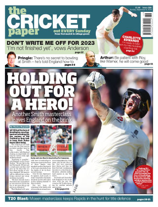 The Cricket Paper 8th September 2019