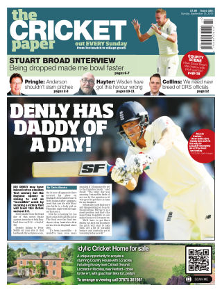 The Cricket Paper 25th September 2019