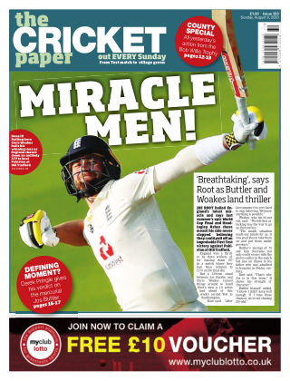 The Cricket Paper 9th August 2020