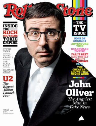 Rolling Stone October 9, 2014