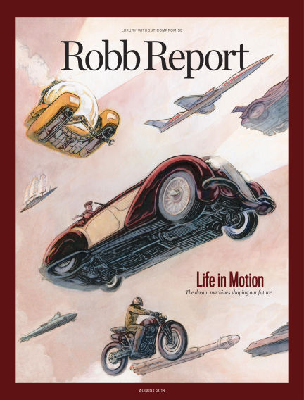 Robb Report July 31, 2018 00:00