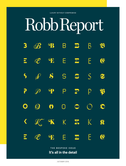 Robb Report October 02, 2018 00:00