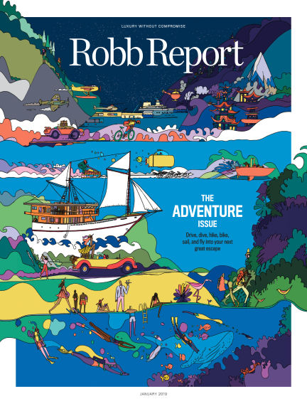 Robb Report January 01, 2019 00:00