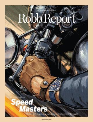 Robb Report November 2020