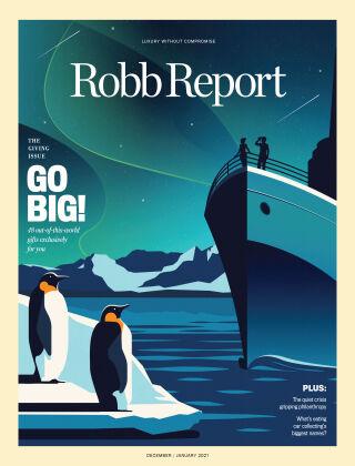 Robb Report December 2020