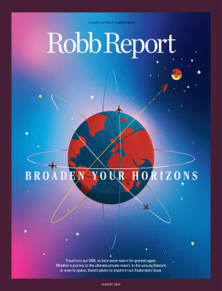 Robb Report August 2021
