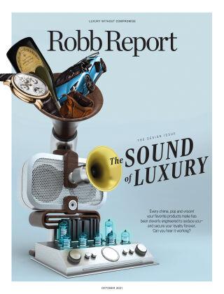 Robb Report October 2021