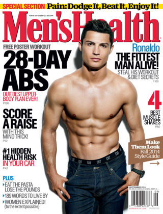 Men's Health September 2014