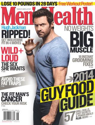 Men's Health June 2014