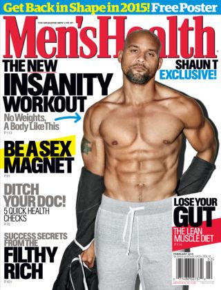 Men's Health February 2015