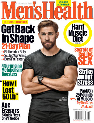 Men's Health Jan-Feb 2016