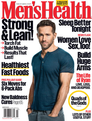 Men's Health Mar 2016