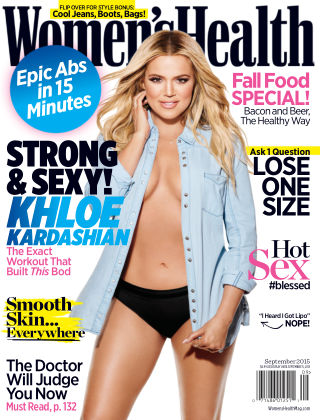 Women's Health September 2015