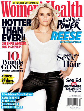 Women's Health October 2015