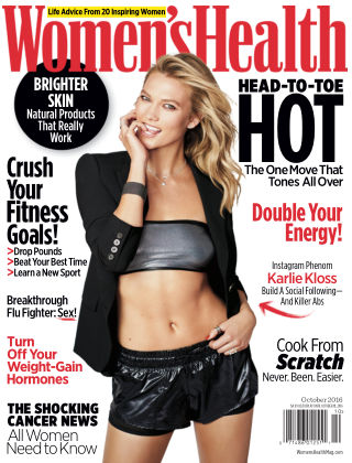 Women's Health Oct 2016