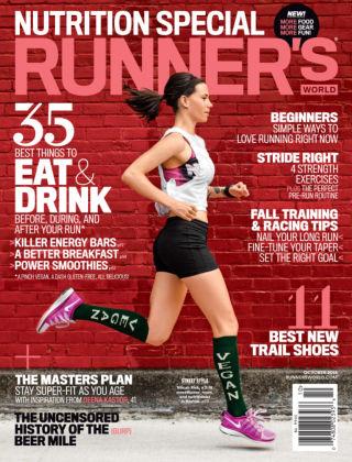 Runner's World October 2014