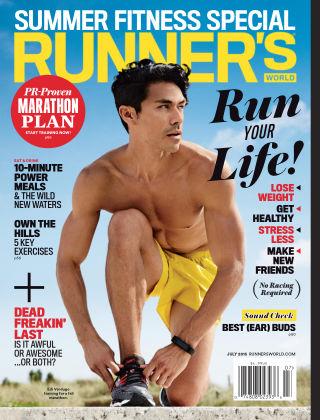 Runner's World July 2015
