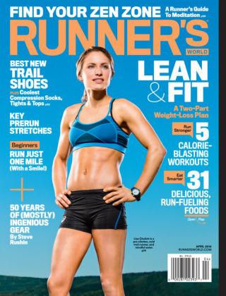 Runner's World Apr 2016