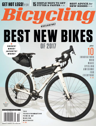 Bicycling Oct 2016
