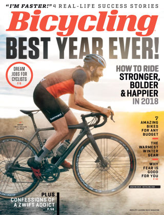 Bicycling Jan-Feb 2018