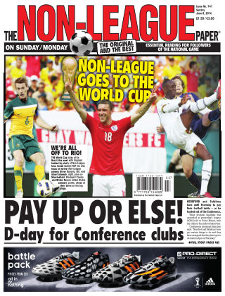 The Non-League Football Paper 8th June 2014