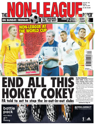 The Non-League Football Paper 15th June 2014